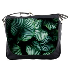 Tropical Florals Messenger Bags by goljakoff