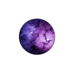Purple Space Golf Ball Marker (4 Pack) by Sapixe