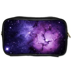 Purple Space Toiletries Bags 2 Side by Sapixe
