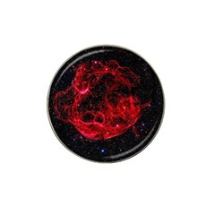 Red Nebulae Stella Hat Clip Ball Marker (10 Pack) by Sapixe