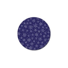 Snowflakes Pattern Golf Ball Marker (4 Pack) by Sapixe
