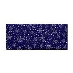 Snowflakes Pattern Cosmetic Storage Cases by Sapixe