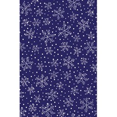 Snowflakes Pattern 5 5  X 8 5  Notebooks by Sapixe