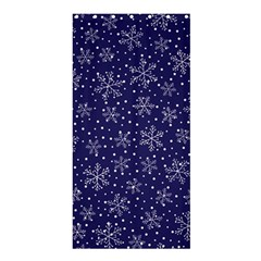 Snowflakes Pattern Shower Curtain 36  X 72  (stall)  by Sapixe