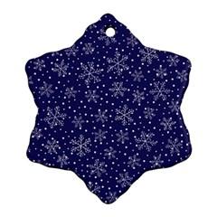 Snowflakes Pattern Ornament (snowflake) by Sapixe