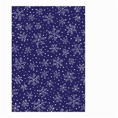 Snowflakes Pattern Small Garden Flag (two Sides) by Sapixe