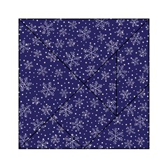 Snowflakes Pattern Acrylic Tangram Puzzle (6  X 6 ) by Sapixe
