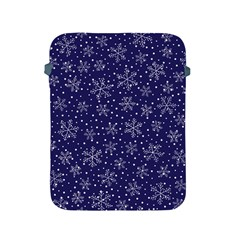 Snowflakes Pattern Apple Ipad 2/3/4 Protective Soft Cases by Sapixe
