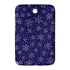 Snowflakes Pattern Samsung Galaxy Note 8 0 N5100 Hardshell Case  by Sapixe