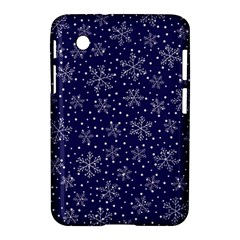 Snowflakes Pattern Samsung Galaxy Tab 2 (7 ) P3100 Hardshell Case  by Sapixe