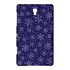 Snowflakes Pattern Samsung Galaxy Tab S (8 4 ) Hardshell Case  by Sapixe