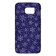 Snowflakes Pattern Galaxy S6 by Sapixe