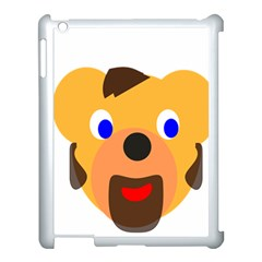 Solidarity Clipart Bear Head Teddy Bear Xmas Christmas Stuffed Animal Apple Ipad 3/4 Case (white) by Sapixe