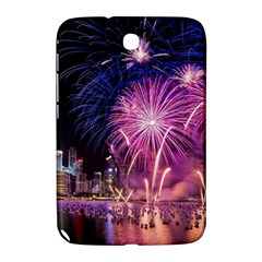 Singapore New Years Eve Holiday Fireworks City At Night Samsung Galaxy Note 8 0 N5100 Hardshell Case  by Sapixe