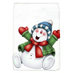 Snowman With Scarf Flap Covers (l)  by Sapixe