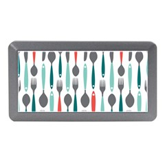Spoon Fork Knife Pattern Memory Card Reader (mini) by Sapixe