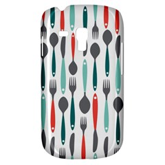 Spoon Fork Knife Pattern Galaxy S3 Mini by Sapixe