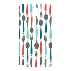 Spoon Fork Knife Pattern Samsung Galaxy Note 3 N9005 Hardshell Back Case by Sapixe