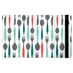 Spoon Fork Knife Pattern Apple Ipad Pro 12 9   Flip Case by Sapixe