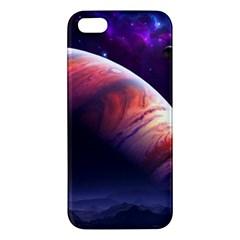 Space Art Nebula Apple Iphone 5 Premium Hardshell Case by Sapixe