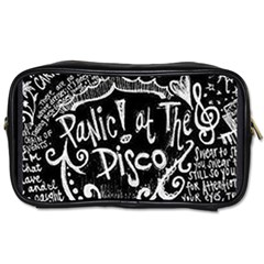Panic! At The Disco Lyric Quotes Toiletries Bags 2 Side by Samandel