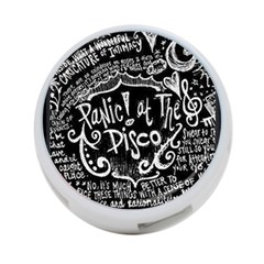 Panic! At The Disco Lyric Quotes 4 Port Usb Hub (one Side)