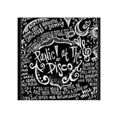Panic! At The Disco Lyric Quotes Acrylic Tangram Puzzle (4  X 4 ) by Samandel