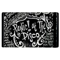 Panic! At The Disco Lyric Quotes Apple Ipad 3/4 Flip Case by Samandel