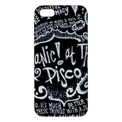 Panic! At The Disco Lyric Quotes Apple Iphone 5 Premium Hardshell Case