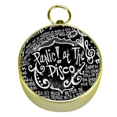 Panic! At The Disco Lyric Quotes Gold Compasses by Samandel