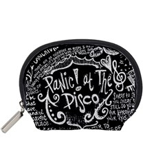 Panic! At The Disco Lyric Quotes Accessory Pouches (small)  by Samandel