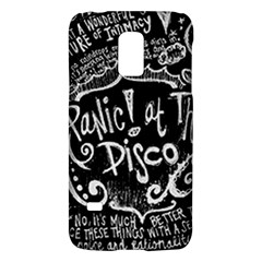 Panic! At The Disco Lyric Quotes Galaxy S5 Mini by Samandel