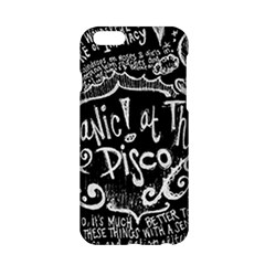 Panic! At The Disco Lyric Quotes Apple Iphone 6/6s Hardshell Case by Samandel