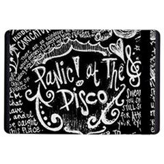 Panic! At The Disco Lyric Quotes Ipad Air 2 Flip by Samandel