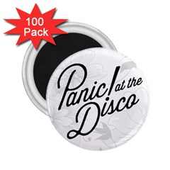 Panic At The Disco Flowers 2 25  Magnets (100 Pack)  by Samandel