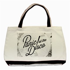 Panic At The Disco Flowers Basic Tote Bag