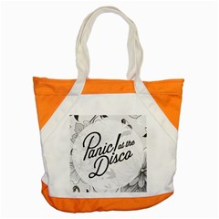 Panic At The Disco Flowers Accent Tote Bag by Samandel