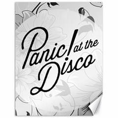 Panic At The Disco Flowers Canvas 18  X 24   by Samandel