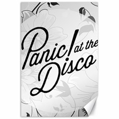 Panic At The Disco Flowers Canvas 24  X 36