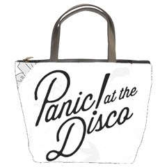 Panic At The Disco Flowers Bucket Bags by Samandel