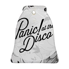 Panic At The Disco Flowers Bell Ornament (two Sides) by Samandel