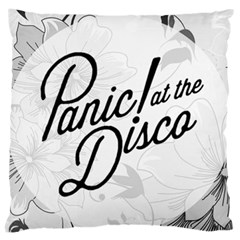 Panic At The Disco Flowers Large Cushion Case (one Side)