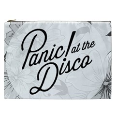 Panic At The Disco Flowers Cosmetic Bag (xxl)  by Samandel