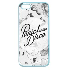 Panic At The Disco Flowers Apple Seamless Iphone 5 Case (color)