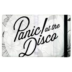 Panic At The Disco Flowers Apple Ipad 2 Flip Case