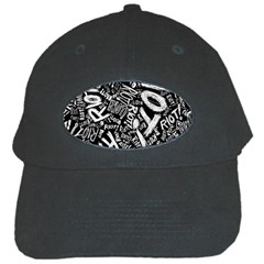 Panic At The Disco Lyric Quotes Retina Ready Black Cap by Samandel