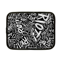 Panic At The Disco Lyric Quotes Retina Ready Netbook Case (small)  by Samandel