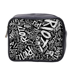 Panic At The Disco Lyric Quotes Retina Ready Mini Toiletries Bag 2 Side by Samandel