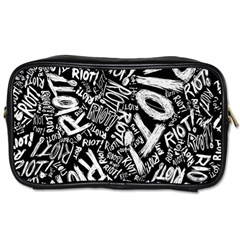 Panic At The Disco Lyric Quotes Retina Ready Toiletries Bags 2 Side by Samandel