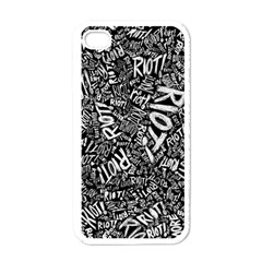 Panic At The Disco Lyric Quotes Retina Ready Apple Iphone 4 Case (white)